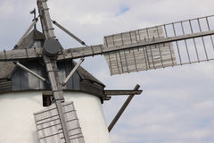 Historic Windmill. In the village of Retz in east Austria Royalty Free Stock Photography