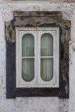 Historic window Portuguese vintage home. Stock Image