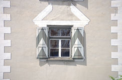 Historic windows with shutters Royalty Free Stock Image