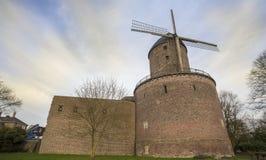 The historic winmill kempen germany Stock Image