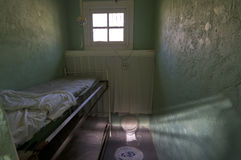 Historic Womans Jail Cell Stock Images
