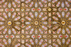 Historic Wooden Ceiling Royalty Free Stock Photography