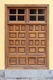 Historic wooden door Royalty Free Stock Images