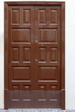 Historic wooden door Royalty Free Stock Image