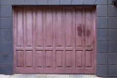 Historic wooden door Stock Photography