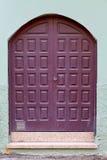 Historic wooden door Royalty Free Stock Photography