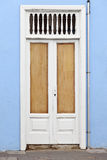 Historic wooden door Stock Photos