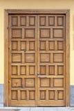 Historic wooden door Royalty Free Stock Photos