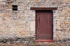 Historic wooden door Stock Image