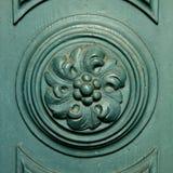 Historic wooden doors Stock Image