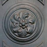 Historic wooden doors Stock Images