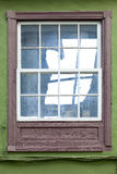 Historic wooden window Stock Photography