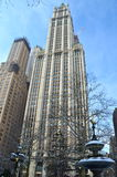 Historic Woolworth Building, NYC. Historic Woolworth Building, New York City, USA Stock Photo