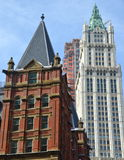 Historic Woolworth Building, NYC Stock Photos