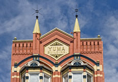 Historic Yuma Building, San Diego. Built in the 1880's, the historic Yuma Building, in the Gaslamp District of San Diego, California, was one of the first brick royalty free stock image