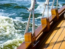 Shipping on baltic sea royalty free stock photography