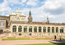 Historic Zwinger palace in Dresden Royalty Free Stock Photos