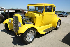 Historical 1928 Ford on display Royalty Free Stock Photo