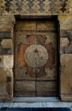 A historical aged door at a mosque in Cairo Royalty Free Stock Photography