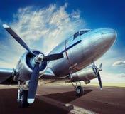 Historical aircraft Stock Photo