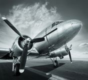 Historical aircraft Stock Photography