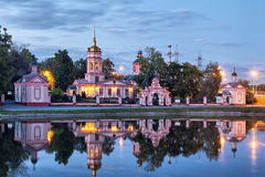 Historical Altufevo estate, Moscow, Russia Stock Images