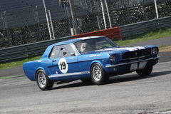 Historical American Car Race Royalty Free Stock Images