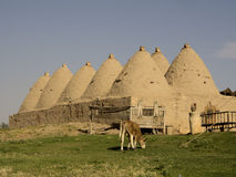Historical and ancient Beehive houses in Şanlıurfa,Turkey Stock Photography