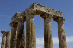 Historical ancient Corinth Royalty Free Stock Photo