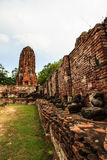 Historical and ancient the ruins Royalty Free Stock Photos
