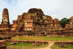 Historical and ancient the ruins Royalty Free Stock Photo