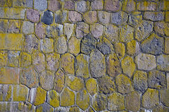 Historical ancient stone brick wall background Royalty Free Stock Image