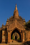 Historical Ancient Temple ,  Bagan in Myanmar (Burmar) Stock Photo