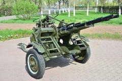 A historical anti-aircraft gun Royalty Free Stock Image