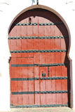 historical in  antique building door morocco   and metal rusty Stock Images
