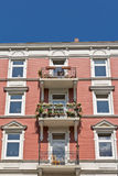 Historical apartment building Stock Images