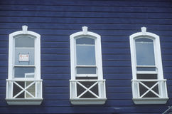 Historical apartments on Union Street, San Francisco, CA Stock Photos