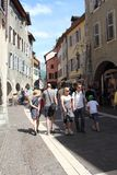 Architecture of Annecy, France Stock Photography