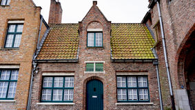 Historical architecture in Brugge Belgium Stock Images