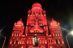Historical architecture building Mumbai India stock photos