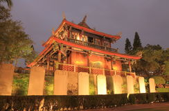Historical architecture of Chihkan Tower Tainan Taiwan Stock Photos