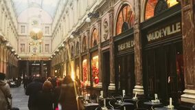 Historical architecture and Christmas holiday shopping in Brussels