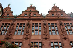 Historical architecture of Frankfurt on the Main Royalty Free Stock Photo