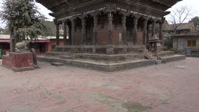 Historical architecture in Katmandu,Nepal stock video