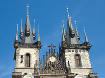 Historical architecture of Prague Royalty Free Stock Photography