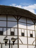 Historical architecture, Shakespeare's Globe. Reconstruction of the Shakespeare's globe Theatre in London, UK Royalty Free Stock Photo