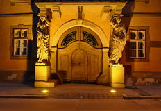 Historical architecture in Sibiu Royalty Free Stock Photos