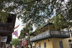 Historical Architecture in St Augustine Florida USA Stock Image