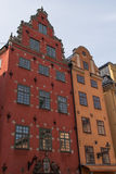 Historical Architecture Tower In Stockholm, Sweden Royalty Free Stock Image