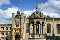 Historical architecture of Trinity College Royalty Free Stock Images